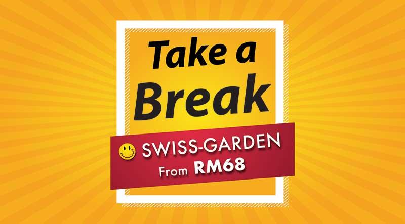 Take a Break Lowest Price Hotel Promotion SGI