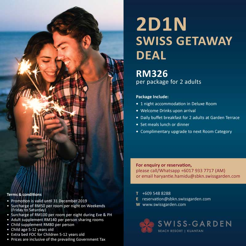 2 Days 1 Night Swiss Getaway Package