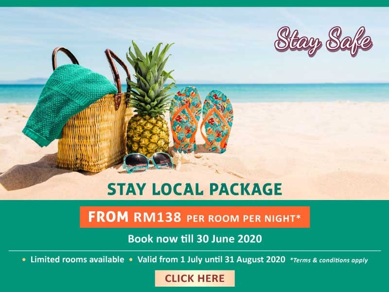 Stay Local Package Kuantan