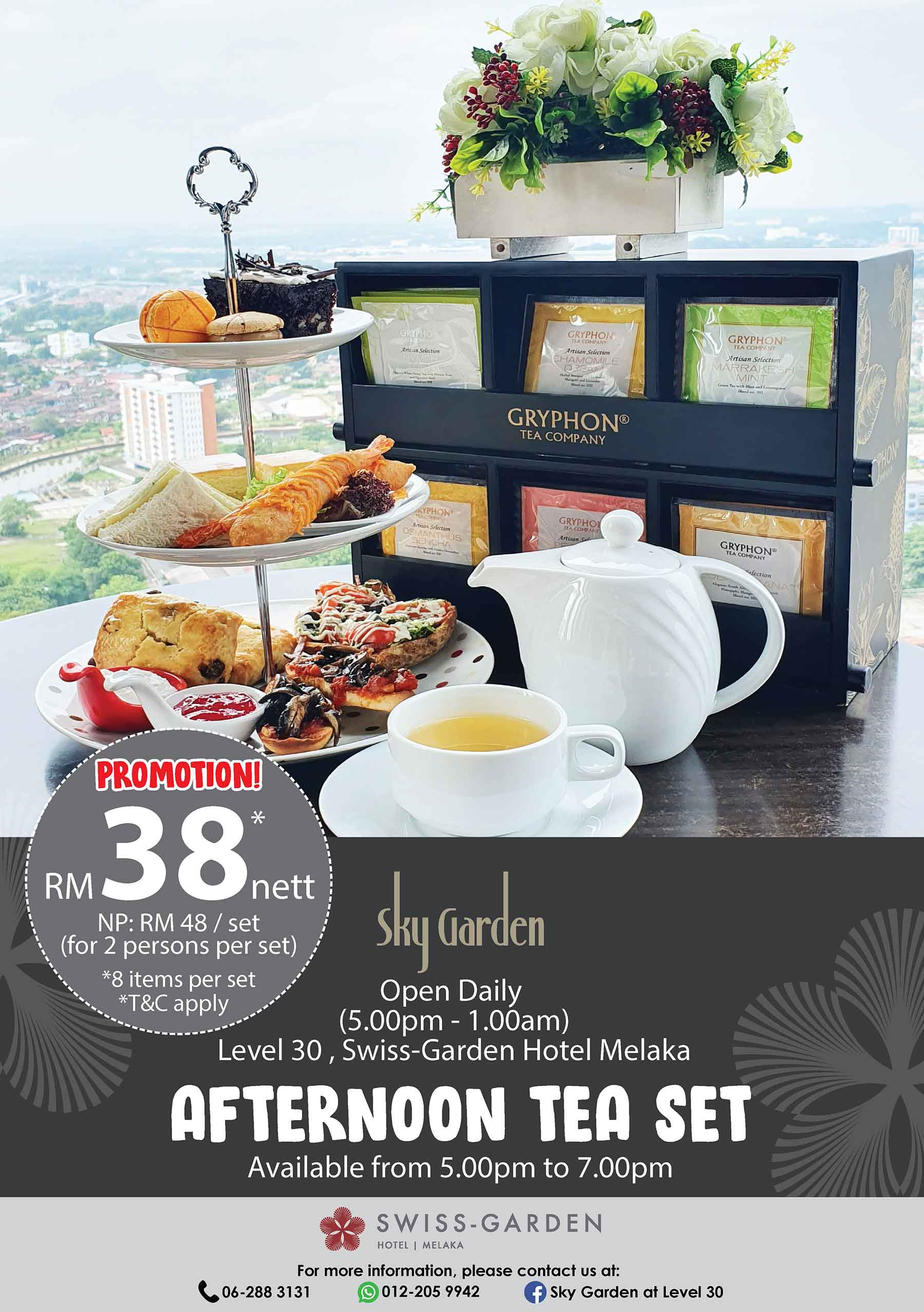 Afternoon High Tea Promotion