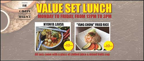 Set Lunch Promotion