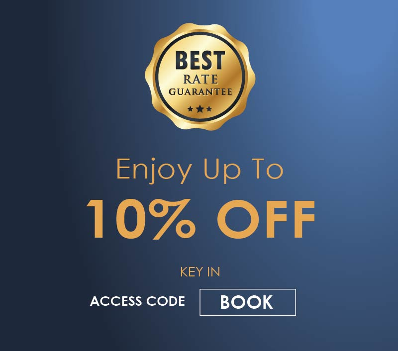 Book Direct 10% OFF