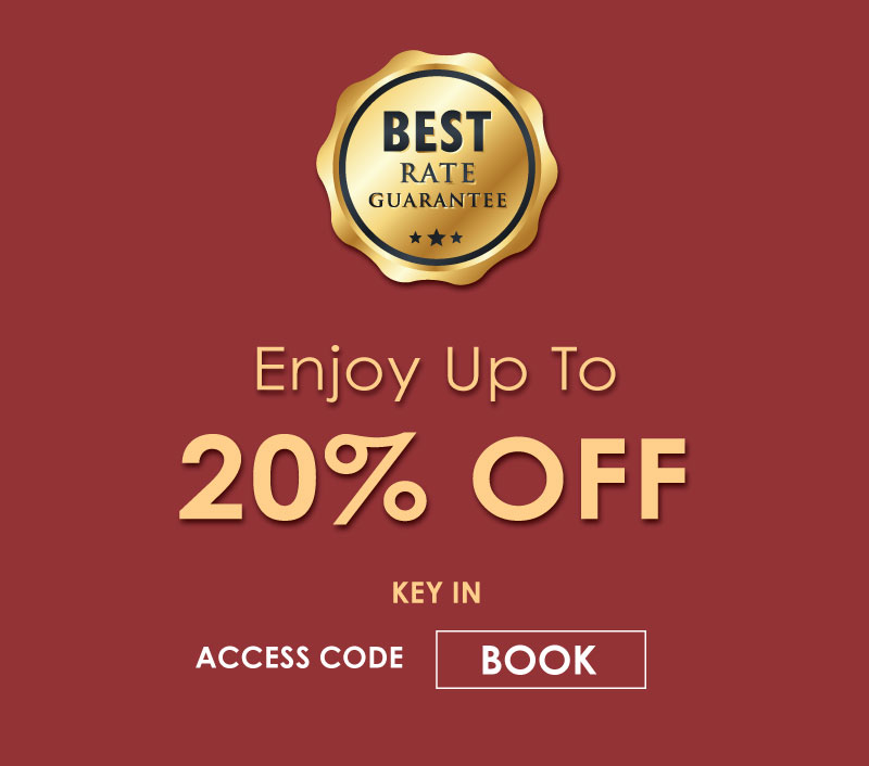 Book Direct 20% OFF