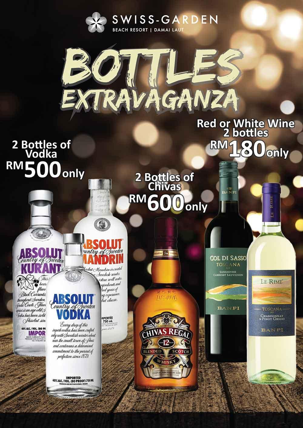Bottles Extravaganza
