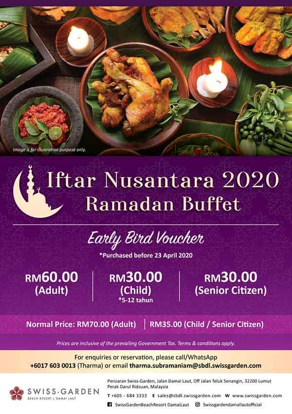 Iftar Nusantara Ramadan Buffet 2020 Promotion Hotel Kuantan