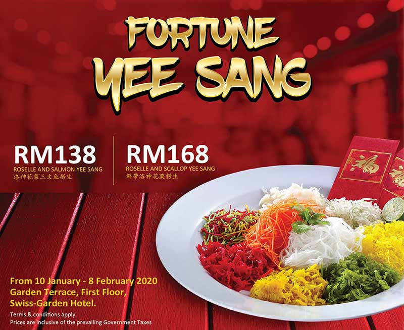 chinese new year yee sang 2020 kl hotel promotion