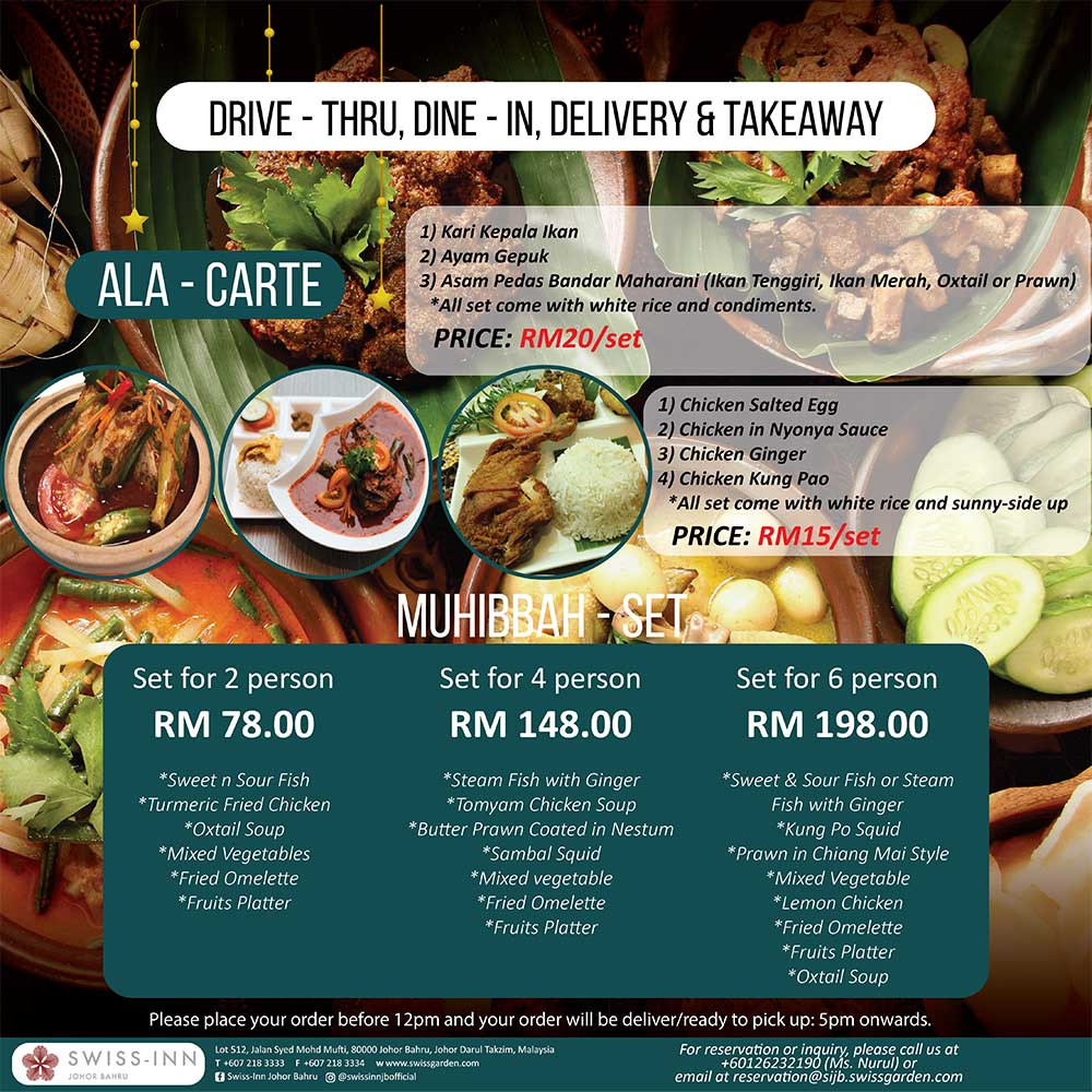 Delivery&Dine-In Promotion